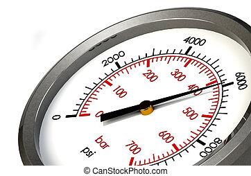 μανόμετρο , 6000, psi