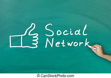 μαυροπίνακας , γενική ιδέα , δίκτυο , κοινωνικός