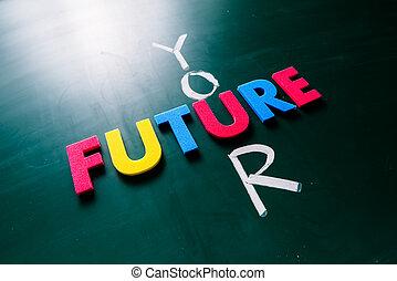 μαυροπίνακας , μέλλον , γενική ιδέα , δικό σου