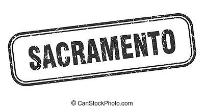 μαύρο , απομονωμένος , grunge , sacramento , σήμα , stamp.