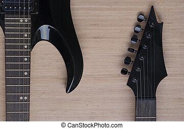 μαύρο , κιθάρα , φόντο