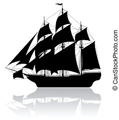 μαύρο , πλοίο , γριά