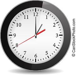 μαύρο , ρολόι