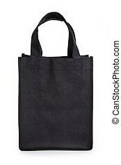μαύρο , reusable , τσάντα για ψώνια