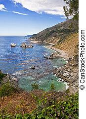 μεγάλος , ακτογραμμή , καλιφόρνια , υπέρ