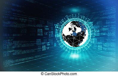 μεγάλος , γενική ιδέα , δεδομένα , internet