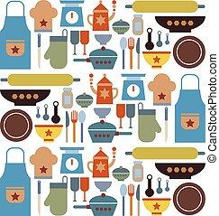 μεγάλος , μικροβιοφορέας , θέτω , κουζίνα , εικόνα