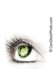 μεγάλος , ομορφιά , eye.