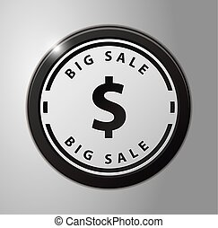 μεγάλος , σήμα , πώληση