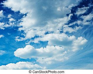 μεγαλοπρεπής , ουρανόs