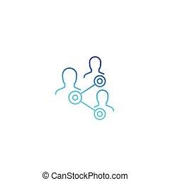 μερίδιο , συνδέω , μικροβιοφορέας , εικόνα , γραμμή