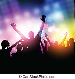 μεσάνυκτα , πάρτυ , άνθρωποι