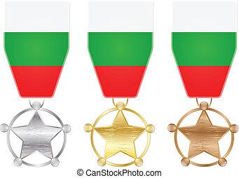 μετάλλιο , βουλγαρία