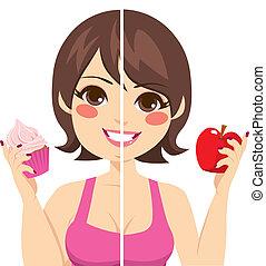 μετά , δίαιτα , πριν