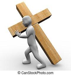 μεταφέρω , σταυρός