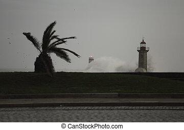 μετοχή του see , θάλασσα , καταιγίδα , δρόμοs