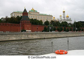μετοχή του see , ποτάμι , κρέμλινο , moscow: