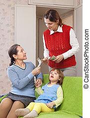 μητέρα , hires, νταντά