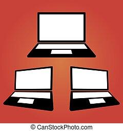 μηχάνημα , laptop , απεικόνιση