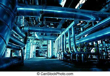 μηχανήματα , αγωγός , ατμός , δύναμη , τουρμπίνα , πίπα καπνίσματος , εργοστάσιο