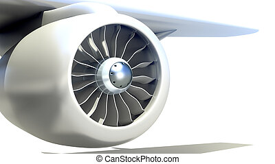 μηχανή , αεροπλάνο , closeup