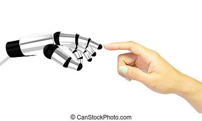 μηχανή , αλληλεπίδραση , ανθρώπινος