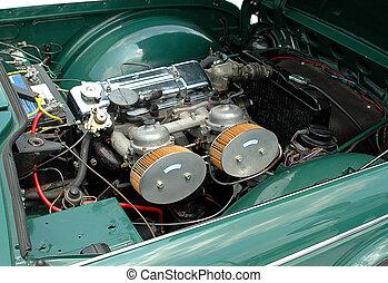 μηχανή , αυτοκίνητο