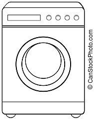μηχανή , νοικοκυριό , αντικείμενο , πλύση