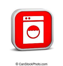 μηχανή , πλύση , σήμα