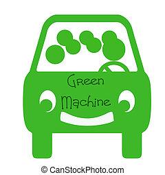 μηχανή , carpool , πράσινο