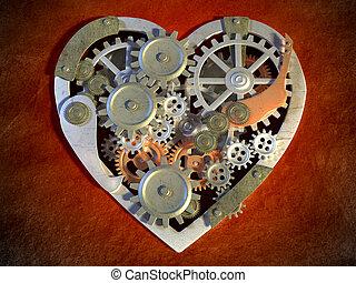 μηχανικός , καρδιά
