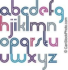 μικρά γράμματα , στρογγυλεμένα , τολμηρός , γραφικός , παραλληλίζομαι , διπλός , γράμματα , γαλόνι , φόντο. , χαρούμενος , άσπρο , κολυμβύθρα , γελοιογραφία