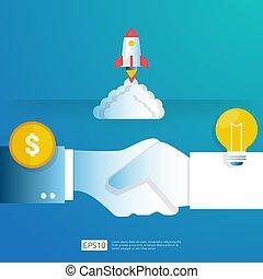 μικροβιοφορέας , άγγελος , επιχειρηματίας , ευκαιρία , startup., βολβός , ελαφρείς , επενδυτής , γενική ιδέα , χαρακτήρας , έρευνα , κομψός , επένδυση , ιδέα , element., illustration., επιχείρηση , λάμπα , analytic., τεχνολογία