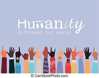 μικροβιοφορέας , ίσα , σχεδιάζω , διαφορετικός , ανθρωπότητα , πάνω , ανάμιξη , ποικιλία , αλλά
