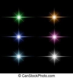 μικροβιοφορέας , ακτίνα , θέτω , ξεσπώ , αστέρι , ελαφρείς
