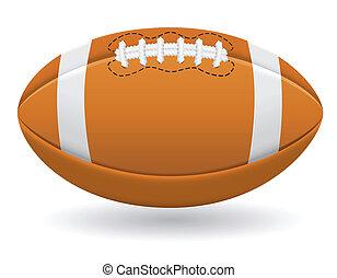 μικροβιοφορέας , αμερικάνικος μπάλα ποδοσφαίρου μπάλα
