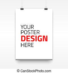 μικροβιοφορέας , αφίσα , χαρτί , οθόνη , φόρμα