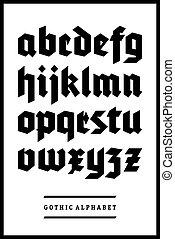 μικροβιοφορέας , γοτθικός , κολυμβύθρα , αλφάβητο , δακτυλογραφώ