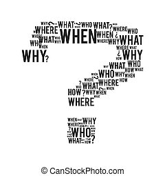 μικροβιοφορέας , γραφικός , ερωτηματικό , αμφιβολία , icon., design.