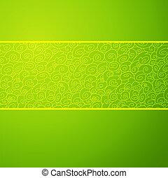 μικροβιοφορέας , διακοσμητικός , development., ρυάκι , εκδίδω , άνοιξη , color., εικόνα , symbolizes , φόντο. , μόδα , ανάπτυξη , εύκολος , πράσινο , οριζόντιος , κύμα , δικό σου , αλλαγή , design.