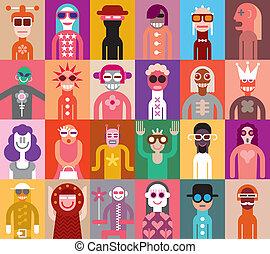 μικροβιοφορέας , εικόνα , άνθρωποι