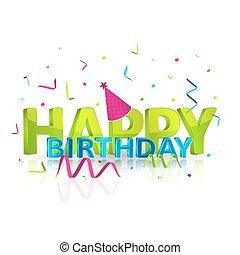 μικροβιοφορέας , εικόνα , γενέθλια , ευτυχισμένος