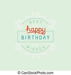 μικροβιοφορέας , ευτυχισμένα γεννέθλια , χαιρετισμός αγγελία