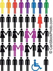 μικροβιοφορέας , θέτω , άνθρωποι , εικόνα
