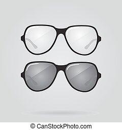 μικροβιοφορέας , θέτω , γυαλλιά ηλίου , eyeglasses.
