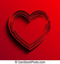 μικροβιοφορέας , καρδιά , φόντο. , eps10
