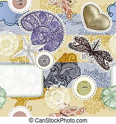 μικροβιοφορέας , κομματάκι , φόρμα , seamless, σχεδιάζω , ...