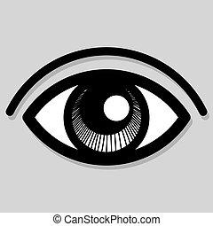 μικροβιοφορέας , μάτι , εικόνα