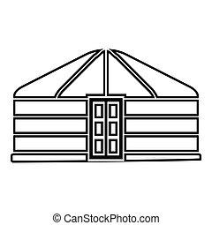 μικροβιοφορέας , νομάδα , εικόνα , φορητός , χρώμα , περίγραμμα , yurt, κτίριο , εικόνα , ρυθμός , επίστρωση , μαύρο , τέντα , εικόνα , κορνίζα , κατοικία , μογγολικός , διαμέρισμα , πόρτα