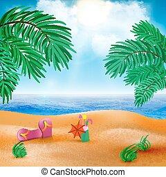 μικροβιοφορέας , παραλία , τοπίο